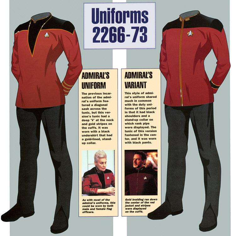 Admirals Uniform